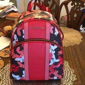 Michael Kors Butterfly Print Backpack